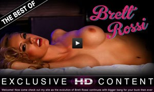 Best paid xxx site featuring the hot model Brett Rossi