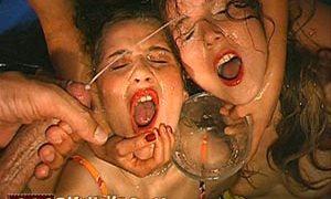 Popular premium adult site for bukkake porn pics