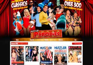 My favorite pay xxx website with tons of parody porn flicks