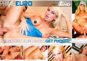 Top premium adult site providing european porn material